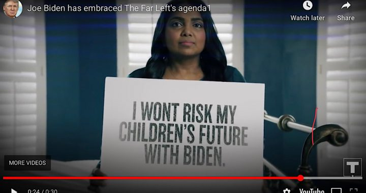 I won't risk my children's future with Biden