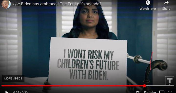 I won't risk my children's future with Biden